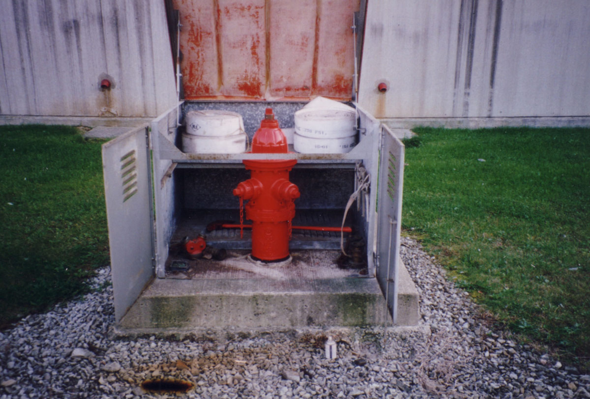 Hydrant Box After Repair